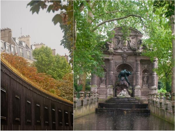 Luxembourg gardens in Paris on eatlivetravelwrite.com