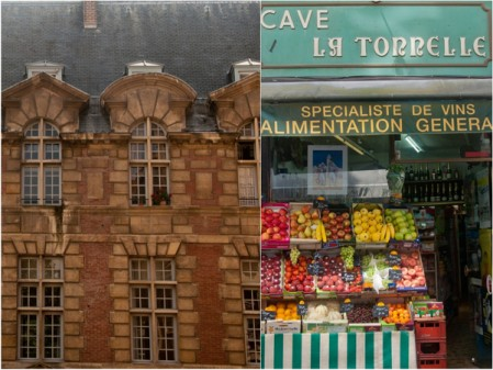Paris buildings and alimentation generale on eatlivetravelwrite.com