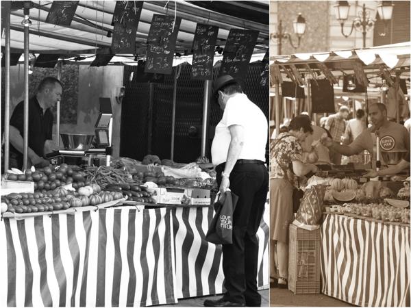 Weekly Versailles market on eatlivetravelwrite.com
