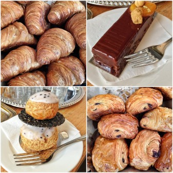 pastries from Beaucoup Bakery
