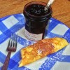 Omelette confiture from My Berlin Kitchen on eatlivetravelwrite.com