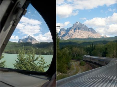 Approaching Jasper on VIA Rail Canadian on eatlivetravelwrite.com