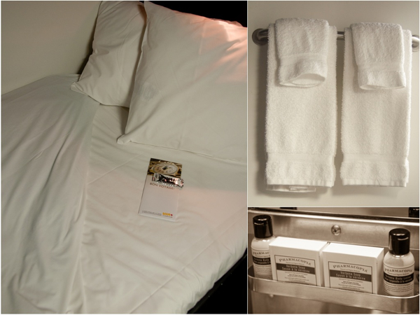 Cabin amenities abord VIA Rail Canadian on eatlivetravelwrite.com