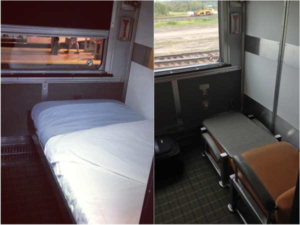 Toronto to vancouver by train on via rail 39 s the canadian Via rail canada cabin for 2