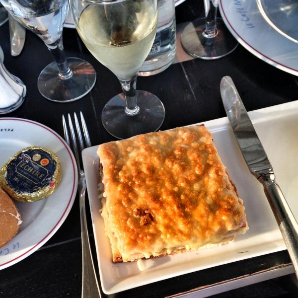Croque Monsieur at Cafe Marly on eatlivetravelwrite.com