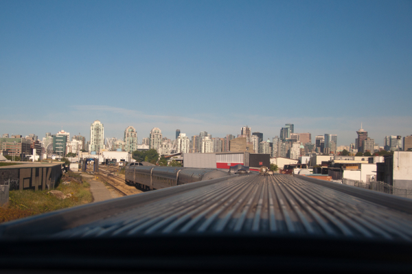 Approaching Vancouver on VIA Rail Canadian on eatlivetravelwrite.com