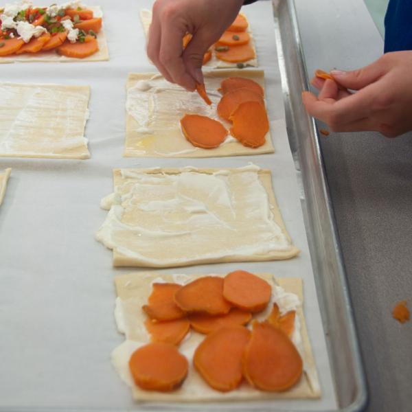 Making Ottolenghis sweet potato galette on eatlivetravelwrite.com