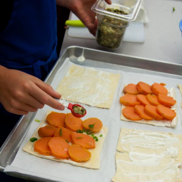 From Ottolenghi Sweet potato galette on eatlivetravelwrite.com