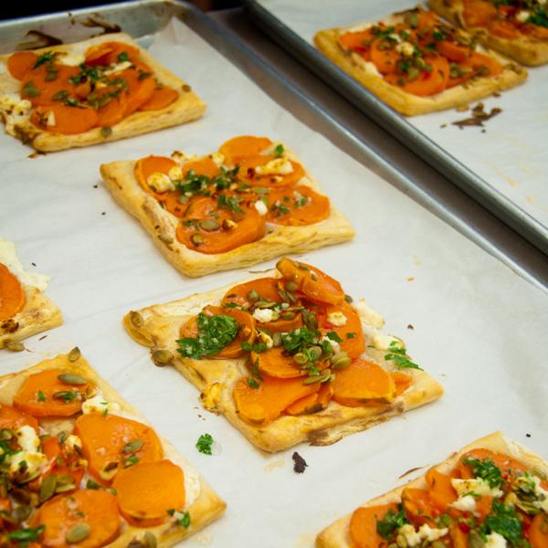 Baked Ottolenghi sweet potato galette on eatlivetravelwrite.com