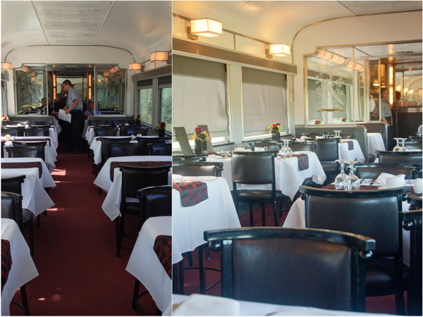 Dining Car on VIA Canadian eatlivetravelwrite.com