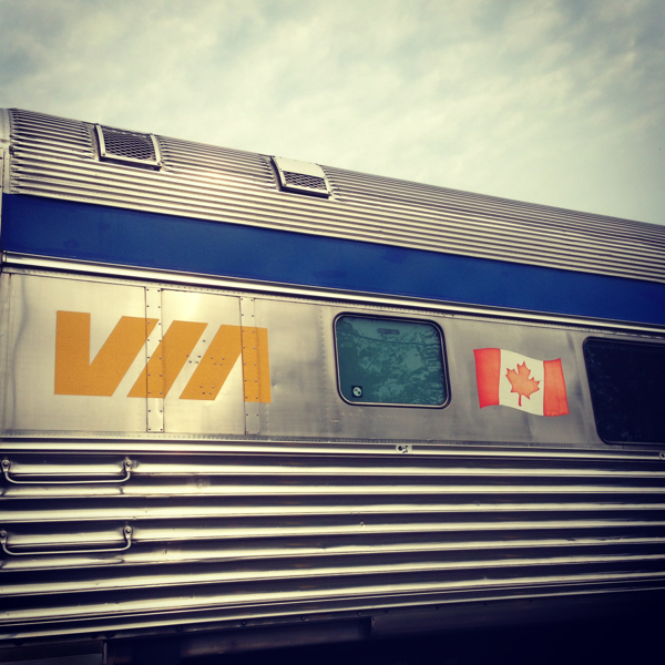 The VIA Rail Canadian on eatlivetravelwrite.com
