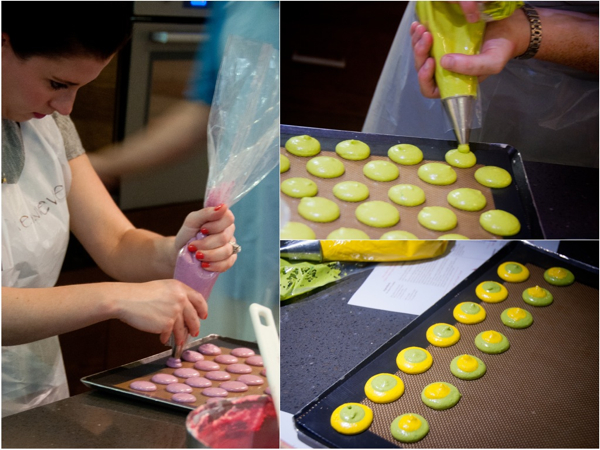 Macaron decorating class at La Cuisine Paris on eatlivetravelwrite.com
