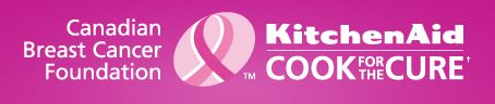 KitchenAid Canada Cook for the Cure logo on eatlivetravelwrite.com