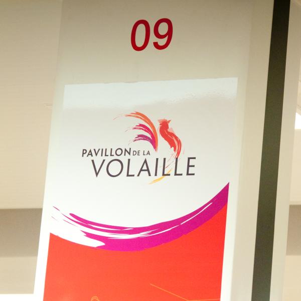 Pavillon de la volaille at Rungis market on eatlivetravelwrite.com