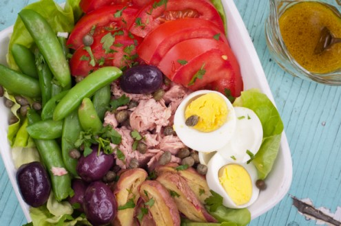 Salade Nicoise from Around my French Table on eatlivetravelwrite.com