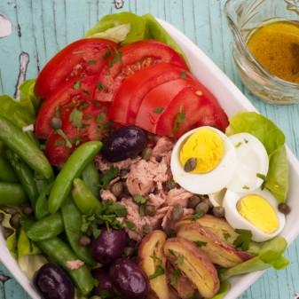 Dorie Greenspan's salade Nicoise on eatlivetravelwrite.com