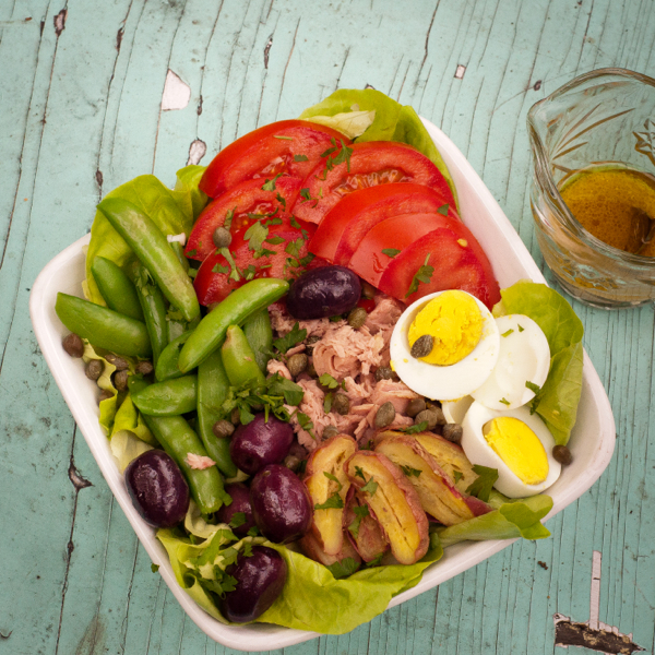 Salada Nicoise for French Fridays with Dorie on eatlivetravelwrite.com