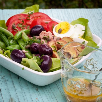 Dorie Greenspan's Salade Nicoise for French Fridays with Dorie on eatlivetravelwrite.com