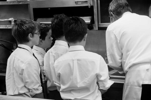 Les Petits Chefs visit the National Club on eatlivetravelwrite.com