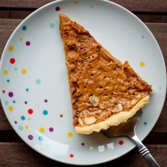 Dorie Greenspan Caramel Almond Tart for French Fridays with Dorie on eatlivetravelwrite.com