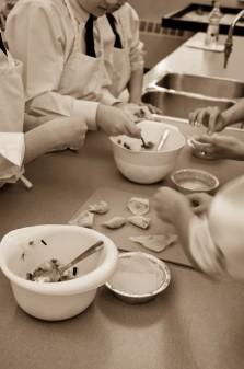Afghan dumpling filling on eatlivetravelwrite.com