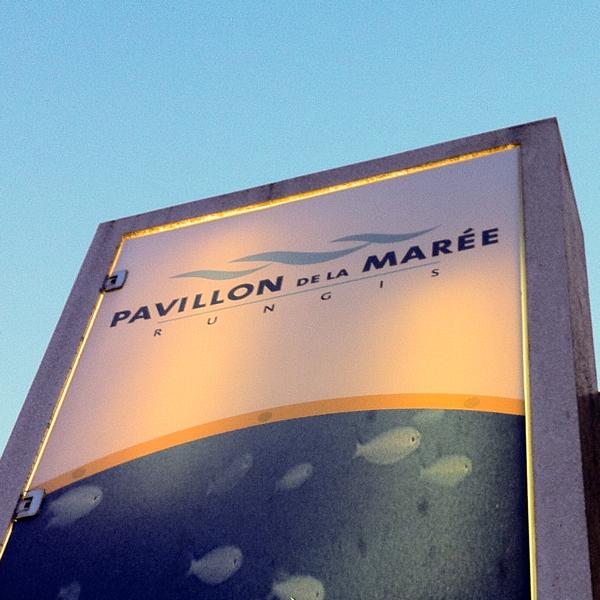 Pavillon de la Maree at Rungis on eatlivetravelwrite.com