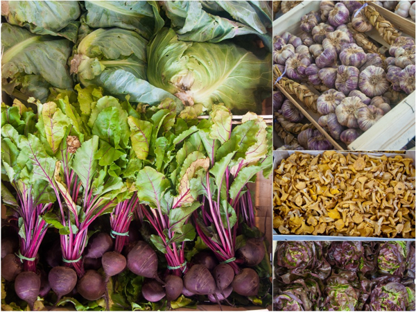 In the vegetable pavillion at Rungis on eatlivetravelwrite.com