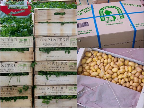 Potatoes and herbs at Rungos on eatlivetravelwrite.com