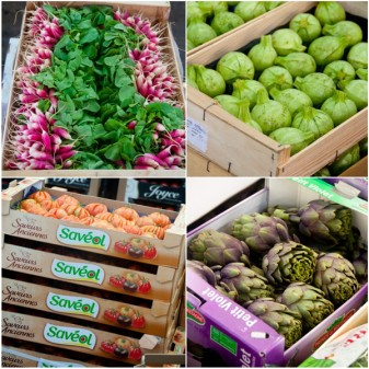 Vegetables at Rungis Market on eatlivetravelwrite.com