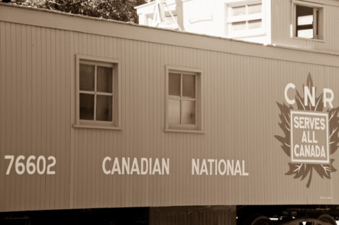 Canadian National carriage in Winnipeg on eatlivetravelwrite.com