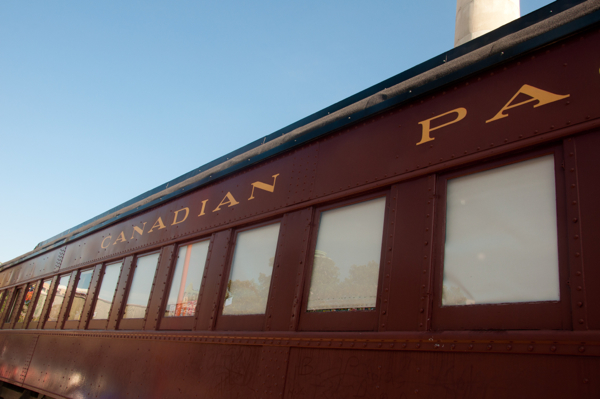 Canadian Pacific Rail Carriage in Winnipeg on eatlivetravelwrite.com
