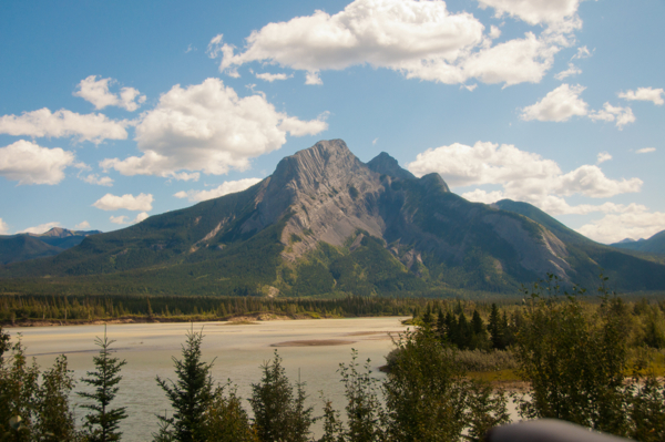 Scenery on the way to Jasper on eatlivetravelwrite.com