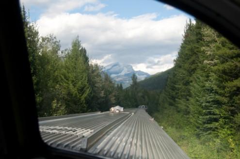 Heading away from Jasper on VIARail Canadian on eatlivetravelwrite.com