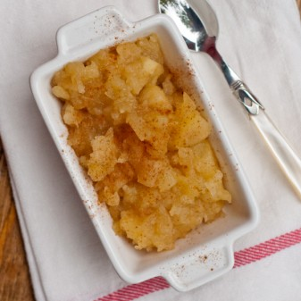 Dorie Greenspan compote de pommes on eatlivetravelwrite.com