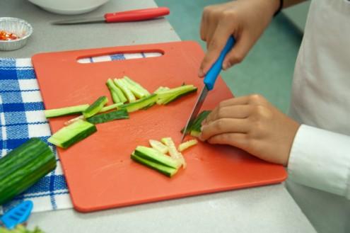 Julienne vegetables on eatlivetravelwrite.com