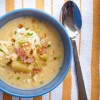 Slow cooker baked potato soup on eatlivetravelwrite.com