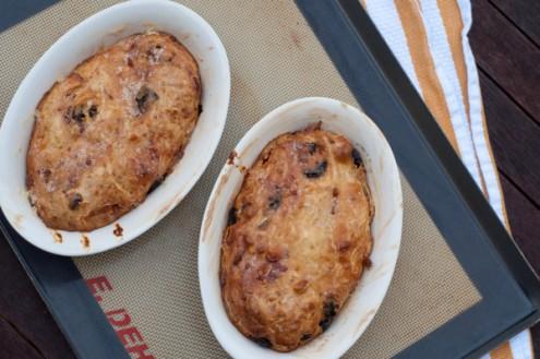 French Fridays with Dorie salty sweet potato far on eatlivetravelwrite.com