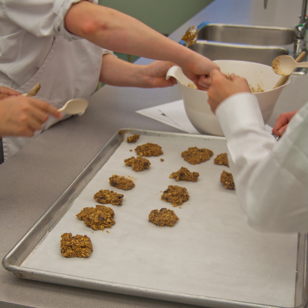 Scooping Mairlyn Smith's breakfast Grab and gos on eatlivetravelwrite.com