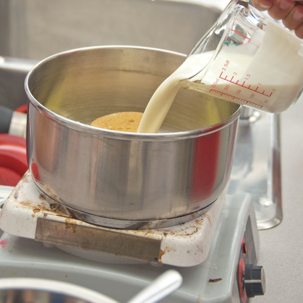 Making butterscotch sauce on eatlivetravelwrite.com