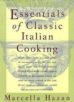 Essentials of Classic Italian Cooking cover
