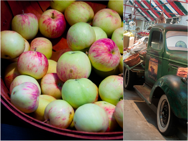 Fresh apples at The Forks Market in Winnipeg on eatlivetravelwrite.com