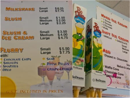 Scoops and Loops ice cream shop in Jasper on eatlivetravelwrite.com