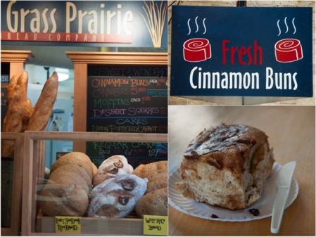 Tall Grass Prairie cinnamon buns on eatlivetravelwrite.com