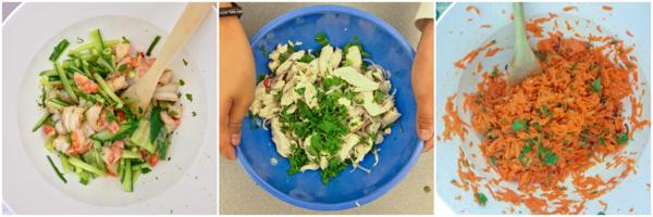 Three salads from Burma on eatlivetravelwrite.com