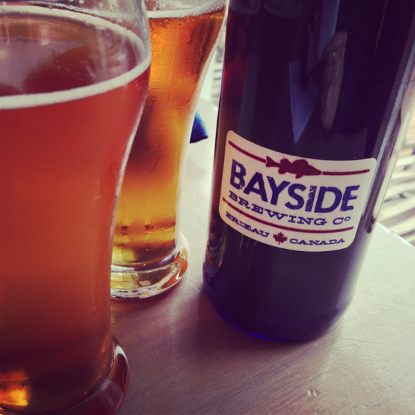 Beer tasting at Bayside Brewery on eatlivetravelwrite.com