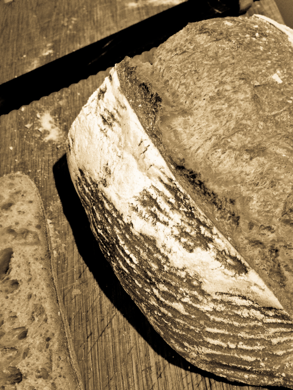 Sourdough loaf on eatlivetravelwrite.com
