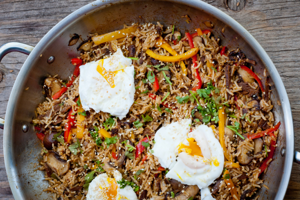 Korean stir fried rice #savewithJamie on eatlivetravelwrite.com