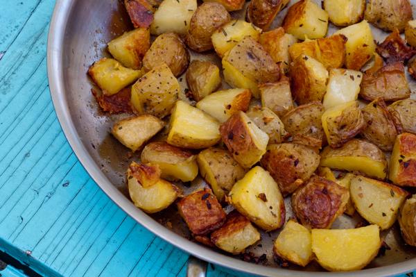 Jamie Oliver roast potatoes #savewithJamie on eatlivetravelwrite.com