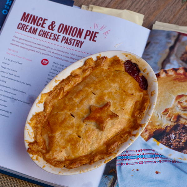 Mince and onion pie #savewithJamie on eatlivetravelwrite.com