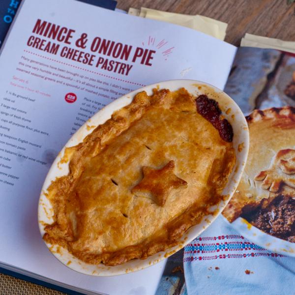 Mince and onion pie #savewithJamie on eatlivetravelwrite.com
